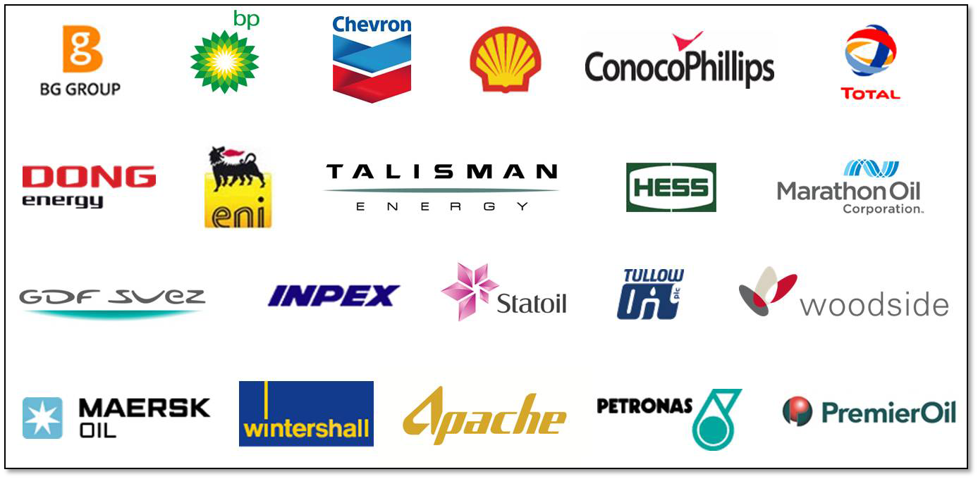 the gallery for gt oil and gas company logos with names